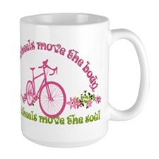 Two wheels move the soul Mugs