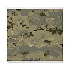 Military Camo Queen Duvet