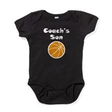 Basketball Coachs Son Baby Bodysuit