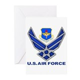 Air education and training command Greeting Cards (10 Pack)