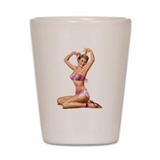 Pin Up Cutie Shot Glass