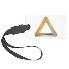 Penrose Triangle Luggage Tag