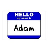 hello my name is adam  Postcards (Package of 8)