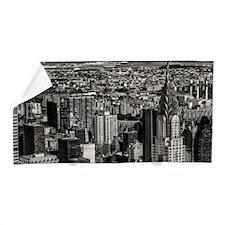 New York City Skyline Photo Beach Towel