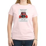 Diamond T Trucks 1905 to 1967 Women's Pink T-Shirt