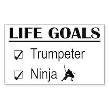Trumpeter Ninja Life Goals Decal