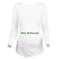 Mini-Mcdonald Long Sleeve Maternity T-Shirt