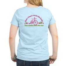 2-Sided Bike Love Women'S Light T-Shirt