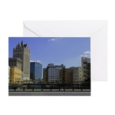 Downtown Milwaukee Greeting Card