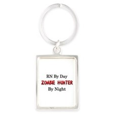 RN/Zombie Hunter Portrait Keychain