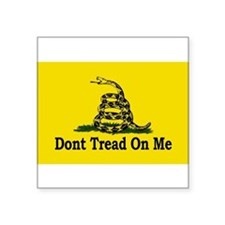 Dont Tread On Me Rectangle Sticker