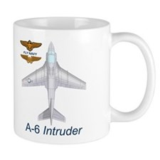 A-6 Intruder With Navy Wings Coffee Mug