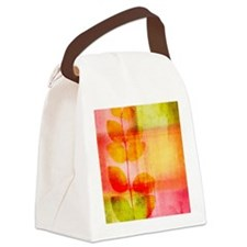 Pretty leaves Canvas Lunch Bag