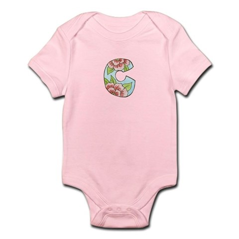 C With Roses Body Suit Infant Bodysuit