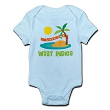 I Love the West Indies Infant Bodysuit