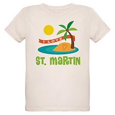 I Love St. Martin T-Shirt