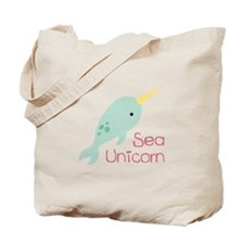 Sea Unicorn Tote Bag