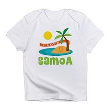 I Love Samoa Infant T-Shirt