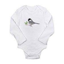 Black-Capped Chickadee Body Suit