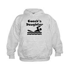 Swimming Coachs Daughter Hoodie