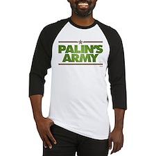Palins Army Baseball Jersey