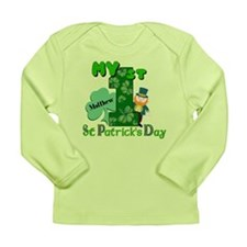 1st St Patricks Day Long Sleeve Infant T-Shirt