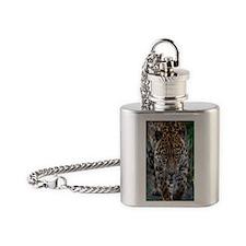 Gorgeous leopard Flask Necklace