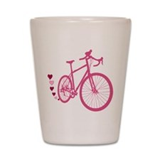 Bike Love Shot Glass