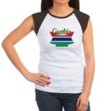 Gambian flag ribbon Tee