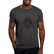 Freemasonry Symbol Black T-Shirt