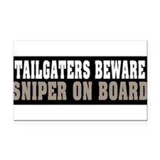Cool Army sniper Rectangle Car Magnet