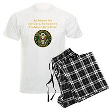 Duty First Army Saying Pajamas