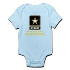 U.S. Army Values Body Suit