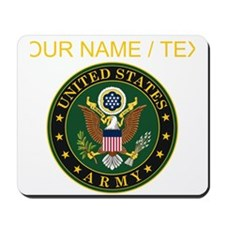 Custom U.S. Army Symbol Mousepad