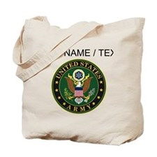 Custom U.S. Army Symbol Tote Bag