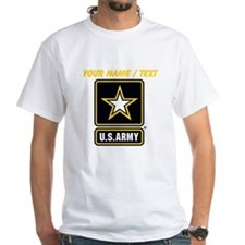 Custom U.S. Army Gold Star Logo T-Shirt