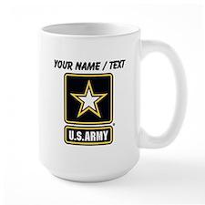 Custom U.S. Army Gold Star Logo Mugs