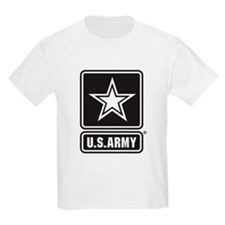 U.S. Army Black And White Star Logo T-Shirt