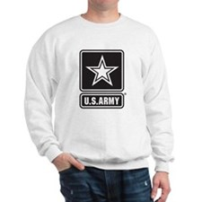 U.S. Army Black And White Star Logo Sweatshirt