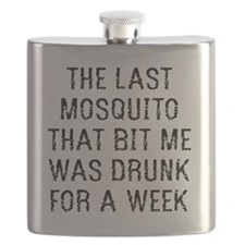 The Last Mosquito that Bit Me Flask