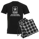 Army military Men's Pajamas Dark