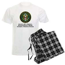 U.S. Army Values Pajamas