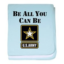 Be All You Can Be baby blanket