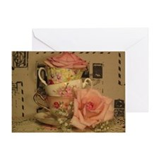Tea and Travel Greeting Card