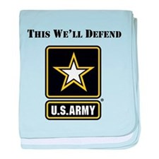 This Well Defend Army baby blanket