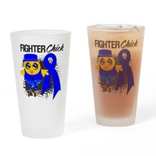Rectal Cancer Fighter Drinking Glass