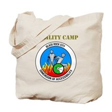 Mobility Camp with BrcDoA Logo Tote Bag