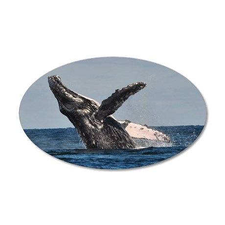Humpback Whale 2 Wall Decal