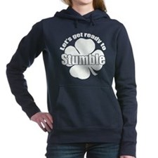 Shamrock Stumble w Hooded Sweatshirt