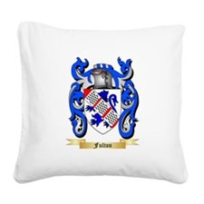 Fulton Square Canvas Pillow